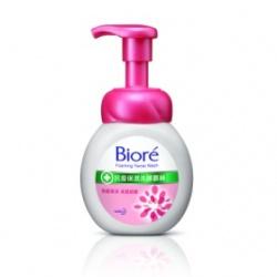 Biore 蜜妮 淨膚鎖水洗顏系列-抗痘保濕洗顏慕絲
