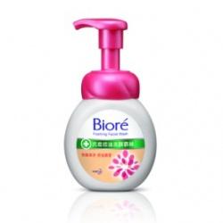 Biore 蜜妮 淨膚鎖水洗顏系列-抗痘控油洗顏慕絲