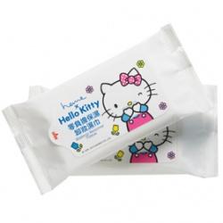 heme Hello Kitty魔力極淨系列-零負擔保濕卸妝濕巾
