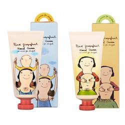SKINFOOD 手部保養-葡萄柚幸福香氛護手乳