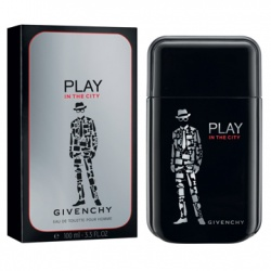 GIVENCHY 紀梵希 男仕香氛-都會玩酷男性淡香水 PLAY IN THE CITY FOR HIM  EAU DE TOILETTE