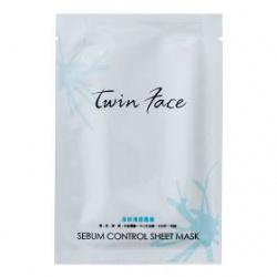 twin face 臉部保養-淨妍清透隱形雲膜 Sebum Control Sheet Mask