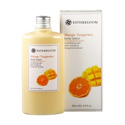 bath&bloom 身體保養-芒果柑橘香氛美體乳 Mango Tangerine body lotion