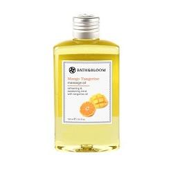 bath&bloom 身體保養-芒果柑橘純天然植物按摩油 Mango Tangerine massage oil