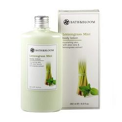 bath&bloom 身體保養-檸檬草薄荷甦醒美體乳 Lemongrass Mint body lotion