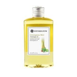 bath&bloom 身體保養-檸檬草薄荷純天然植物按摩油 Lemongrass Mint massage oil