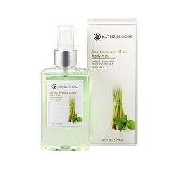 bath&bloom 檸檬草薄荷舒壓系列-檸檬草薄荷美體淡香水 Lemongrass Mint body mist