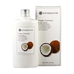 bath&bloom 身體保養-冷萃椰油保濕滋潤美體乳 Virgin Coconut body lotion