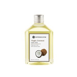 bath&bloom 特級椰油修護系列-冷萃椰油純天然植物泡澡精油 Virgin Coconut bath milk