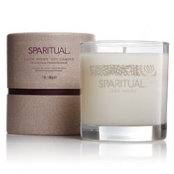 SPARITUAL 室內‧衣物香氛-乳香精油蠟燭 LOOK INSIDE R SOY CANDLE