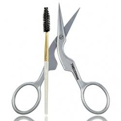專業眉剪眉刷二入套組 Brow Shaping Scissors & Brush