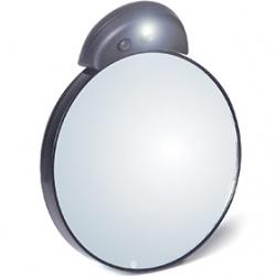TWEEZERMAN 微之魅 彩妝用具-精準幫手LED十倍放大鏡 10x Lighted Mirror