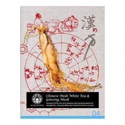 白茶人蔘養氣修護面膜