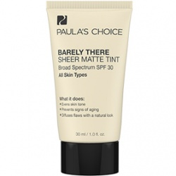 Paula`s Choice 寶拉珍選 底妝系列-裸妝柔光防曬粉底乳SPF30 Barely There Sheer Matte Tint SPF 30