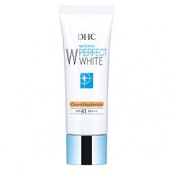 DHC 完美淨白防曬底粧系列-完美淨白防曬粉底霜SPF41 PA+++ Perfect White Cream Foundation SPF41 PA+++