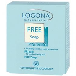 LOGONA 諾格那 溫和舒敏保養系列-溫和舒敏潔面皂 FREE Soap