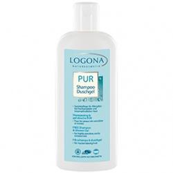 LOGONA 諾格那 溫和舒敏保養系列-溫和舒敏洗髮沐浴乳 FREE Shampoo & Shower Gel