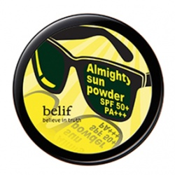belif 底妝系列-豔陽小墨鏡防曬蜜粉SPF50/PA+++ Almighty Sun Powder
