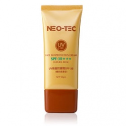 NEO-TEC 妮傲絲翠 防曬‧隔離-UV隔離防曬霜SPF30★★★(膚色潤澤型) Face Sunprotection Cream SPF30★★★(Natural Beige)