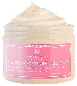 Annie`s Way 果凍面膜系列-金盞花親膚柔嫩果凍面膜 Calendula Softening Jelly Mask