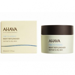 AHAVA 愛海珍泥 乳霜-礦水瓷夜間修護霜 Night Replenisher. Normal to dry skin