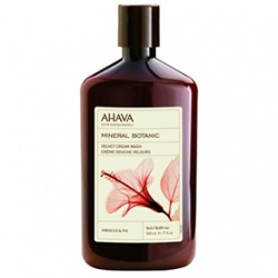 AHAVA 愛海珍泥 沐浴清潔-愛海花妍海浴乳(木槿花/無花果) Mineral Botanic Cream Wash - Hibiscus & Fig