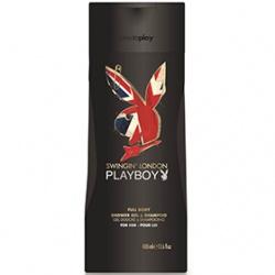 Playboy 男用雙效洗髮沐浴露系列-男用雙效洗髮沐浴露(倫敦皇爵)