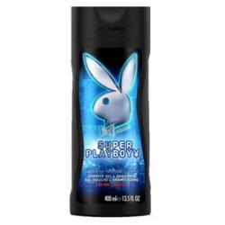 Playboy 男用雙效洗髮沐浴露系列-Super Playboy男用雙效洗髮沐浴露