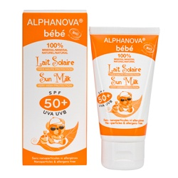 Alphanova 艾蘿若華 嬰幼保養系列-寶貝(高效)防曬乳SPF50+