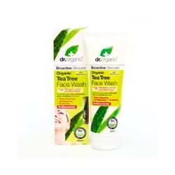 dr. organic 丹霓珂 洗顏-活性茶樹潔面乳