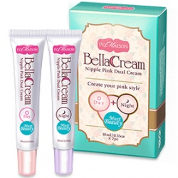 美胸保養產品-MUST BEAUTY粉紅美胸乳暈霜雙效組 Nipple Pink Dual Cream