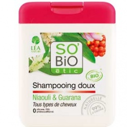 SO'BiO 洗髮-白千層瓜拿納洗髮精 Gentle Niaouli & guarana shampoo - All hair type