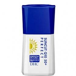 金靚白防曬乳SPF50+/PA++++ DHC Suncut Q10 50+ Perfect SPF50+ PA++++