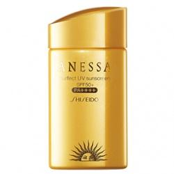 身體防曬產品-安耐曬黃金水鑽防曬露SPF50+/PA++++