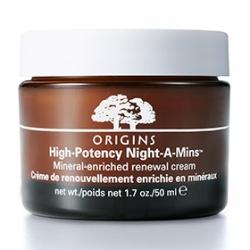 ORIGINS 品木宣言 乳霜-美夢成真夜間高效修護霜(滋潤型) High Potency Night-A-Mins Mineral-enriched renewal cream