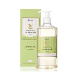 Fees 法緻 寶寶身體保養-嬰兒柔護洗髮沐浴精(香蘋) Gentle Foaming Hair & Body Wash-Apple