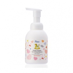 嬰兒洗髮沐浴泡泡(粉紅甜心) Gentle Foaming Hair & Body Mousse –Pink Sweetheart