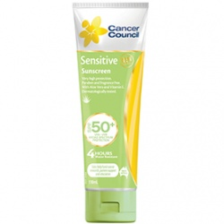 Cancer Council Australia 淨亮曬 身體防曬-SPF50+敏感專用防水防曬乳