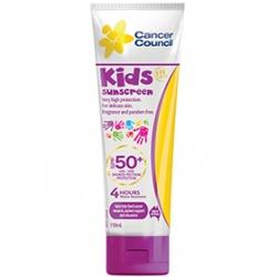 Cancer Council Australia 淨亮曬 寶寶身體保養-SPF50+幼童專用防水防曬乳