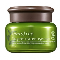 innisfree 眼部保養-綠茶籽潤澤保濕眼霜