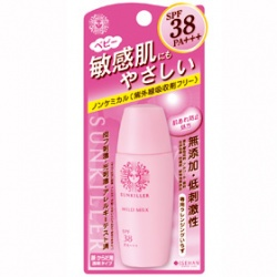 KISS ME 奇士美-開架 寶寶身體保養-Sunkiller防曬水乳液–寶貝溫和型ExSPF38/PA+++