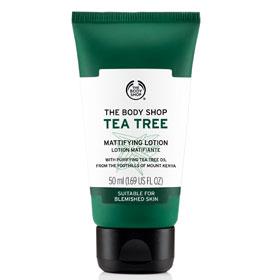 The Body Shop 美體小舖 凝膠‧凝凍-茶樹淨膚保濕膠