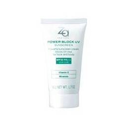 防曬霜SPF40.PA+++ Za Power Block UV Sunscreen