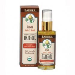 Badger 蓓喆 Balms系列-摩洛哥堅果養護髮油 ARGAN HAIR OIL for Dry Damaged Hair