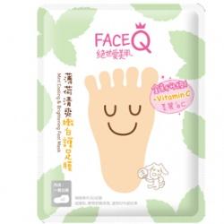 腿‧足保養產品-薄荷清爽嫩白護足膜(升級版)