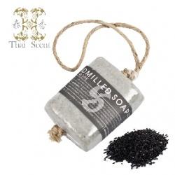 泰國黑米麻繩手工草本皂 Thai Scent handmilled soap on the soap(Black Rice)
