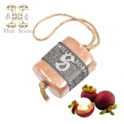 Soap-n-Scent 泰香 沐浴清潔-山竹麻繩手工草本皂 Thai Scent handmilled soap on the soap(Mangosteen)