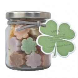 Soap-n-Scent 泰香 造型草本手工皂-草本罐裝造型迷你皂-Luck 幸運 Thai Scent Soap jar-Luck