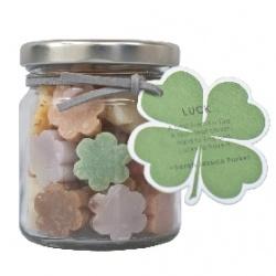 草本罐裝造型迷你皂-Luck 幸運 Thai Scent Soap jar-Luck
