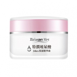 Taiwan Yes 24hrs特潤玻尿酸系列-24hrs特潤玻尿酸精華霜 24hrs Hydrating Cream With Hyaluronic Acid
